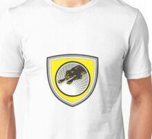 Panther Big Cat Growling Crest Unisex T-Shirt