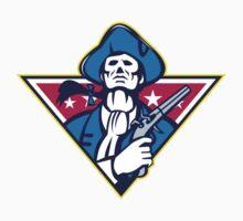 American Patriot Minuteman Flintlock Pistol T-Shirt
