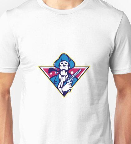 American Patriot Minuteman Flintlock Pistol Unisex T-Shirt