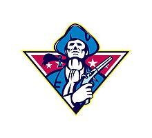 American Patriot Minuteman Flintlock Pistol by patrimonio