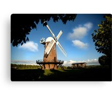 Wilton Windmill evening shadows 2 Canvas Print