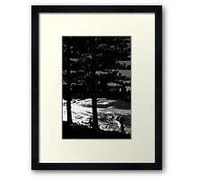 It Could Be Anywhere But It Is  Burleigh Heads Framed Print