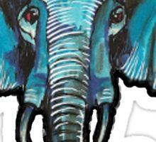 TheBlueElephant large Sticker