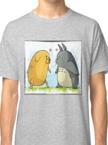 Jake vs Totoro Classic T-Shirt