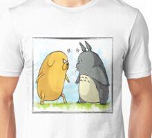 Jake vs Totoro Unisex T-Shirt