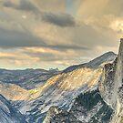 Half Rainbow at Half Dome by Kimball Chen