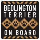 Bedlington Terrier On Board by SignShop