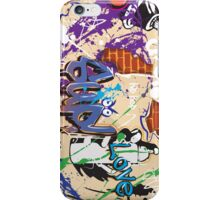 Graffiti wall   iPhone Case/Skin