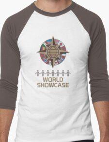 World Showcase Men's Baseball ¾ T-Shirt