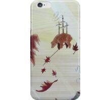 Leaf Collector iPhone Case/Skin