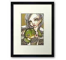 The Land of the Dragons Framed Print