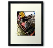 Trains Framed Print