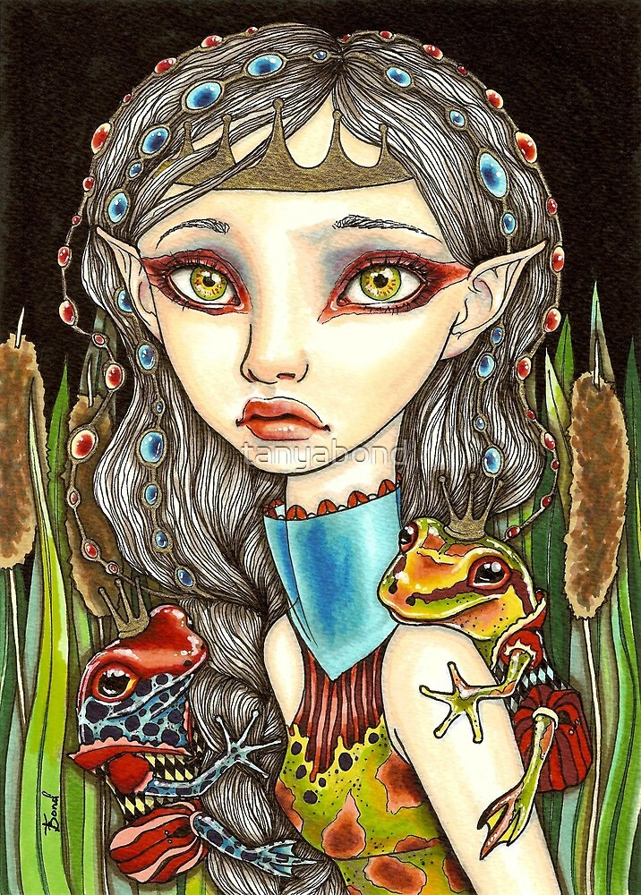 Princesse Grenouille by tanyabond