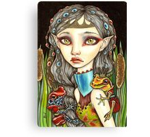 Princesse Grenouille Canvas Print