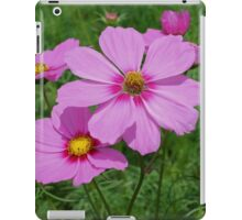 Delicate Pink Cosmos Flowers iPad Case/Skin