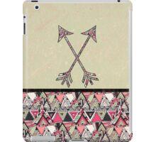 Retro Tribal Arrows Vintage Earth Aztec Pattern iPad Case/Skin