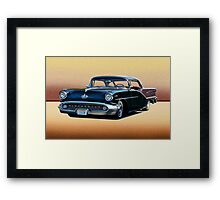 1957 Oldsmobile Custom Studio 4 Framed Print