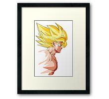 Goku SSJ Framed Print
