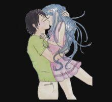 Anime Happy Couple T-Shirt