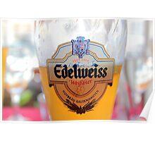 Pint of Edelweiss Hefetrüb Poster