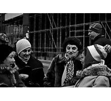 chatting ladies Photographic Print
