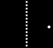 RETRO GAMER - Pong Sticker
