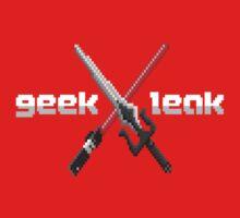 Geek Leak Weapons One Piece - Short Sleeve