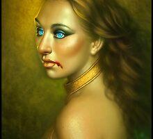 A Vampire's Glare by cgaddict