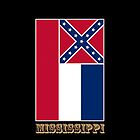 Iphone Case - State Flag of Mississippi - Vertical III by Mark Podger