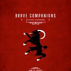 Brave Companions Iphone Case by liquidsouldes