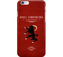 Brave Companions Iphone Case iPhone Case/Skin
