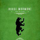 House Mormont iPhone Case by liquidsouldes