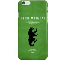 House Mormont iPhone Case iPhone Case/Skin