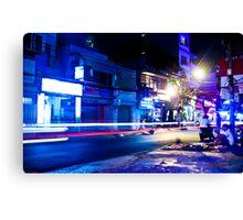 Saigon nights - cool Canvas Print