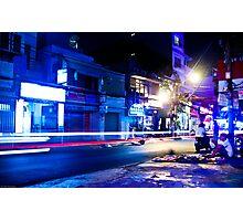 Saigon nights - cool Photographic Print