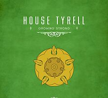 House Tyrell iPhone Case by liquidsouldes