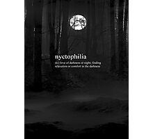 Nyctophilia - Phone Case Photographic Print