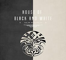 House of Black and White iPhone Case by liquidsouldes