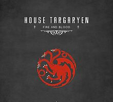 House Targaryen iPhone Case by liquidsouldes
