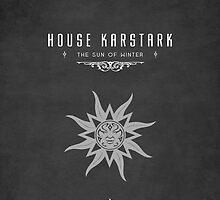 House Karstark iPhone Cover by liquidsouldes