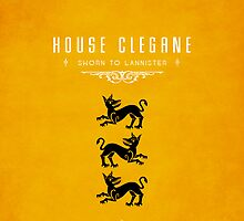 House Clegane iPhone Case by liquidsouldes
