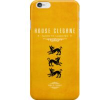 House Clegane iPhone Case iPhone Case/Skin