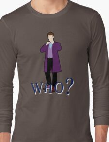 """""""WHO?"""" Eleventh Doctor T-Shirt (2) T-Shirt"""