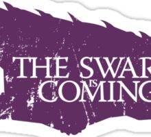 The Swarm is Coming Sticker