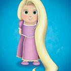 Rapunzel by Digital Art with a Heart