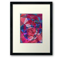 A Shoal of Fish Framed Print