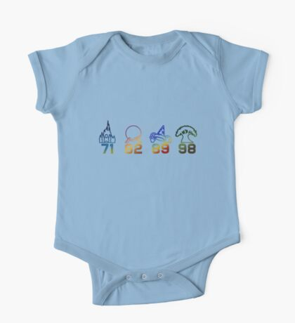 Four Parks Tribute One Piece - Short Sleeve