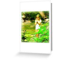 Tina in Fairyland Greeting Card