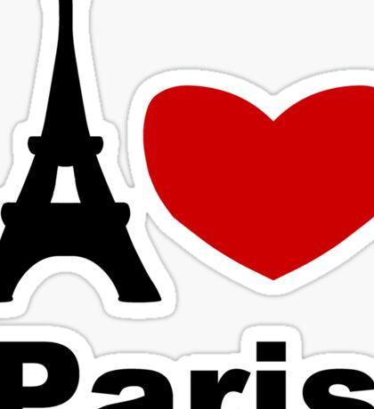 I Heart Paris Sticker