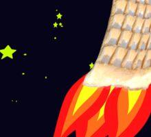 Belgium enters the Space race Sticker